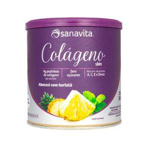 Colageno-Hidrolisado-Abacaxi-com-Hortela--300g----Sanavita