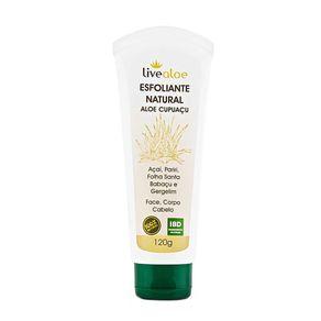 Esfoliante-Natural-Livealoe---Aloe-e-Cupuacu---120ml