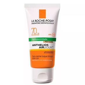 Protetor-solar-Anthelios-Airlicium-FPS-70-gel-creme-pele-clara-50g