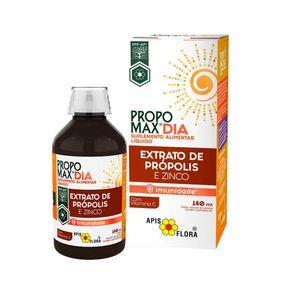 Propomax-dia---Extrato-de-Propolis---zinco---Apis-Flora